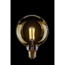 Шар  светодиодный лофт GOLD  G125  8W  Е27  2800К   VG10-G125Gwarm8W