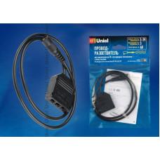 Переходник для 4х светильников на 12В к блоку питания UET-VPA(08199) Uniel UCX-LJ4/E20-060 BLACK 1 POLYBAG