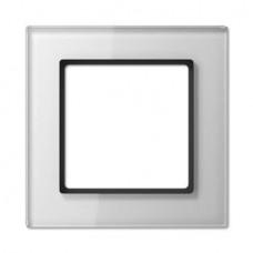Рамка 1-постовая Jung A creation стекло белое AC581GLWW