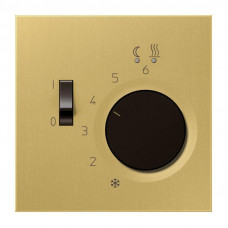 Регулятор теплого пола Jung LS 990 латунь classic FTRME231C