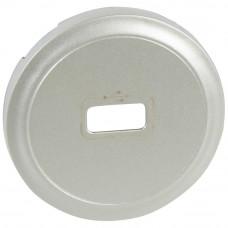 Лицевая панель Legrand Celiane розетки USB титановая 068553