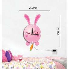 Светодиодный светильник-часы Feron NL76 5V с USB кабелем