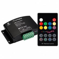 Контроллер-регулятор цвета RGBW с пультом ДУ Arlight VT-S16 VT-S16-3x4A (12-24V, ПДУ Карта 18кн, RF)