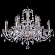 Подвесная люстра Bohemia Ivele Crystal 1402 1402/6_3/195/Pa