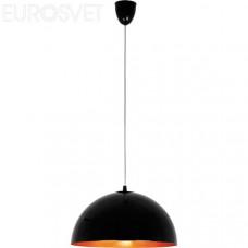 Светильник потолочный Nowodvorski 4840 Hemisphere black-gold