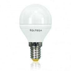Лампа светодиодная диммируемая E14 6W 4000К шар матовый VG2-G2E14cold6W-D 5494